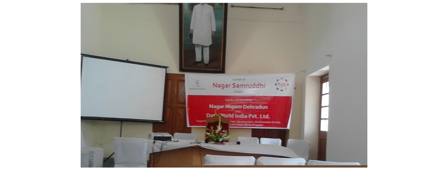 1. Launch of Nagar Samrudhi in Dehradun