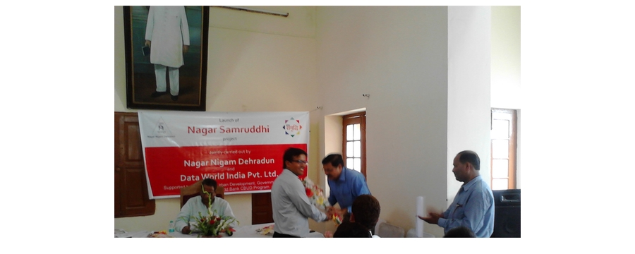 3. Launch of Nagar Samrudhi in Dehradun