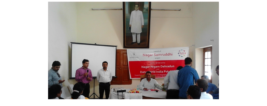 4. Nagar Samrudhi presentation by Data World in Dehradun