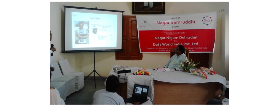 5. Nagar Samrudhi presentation by Data World in Dehradun